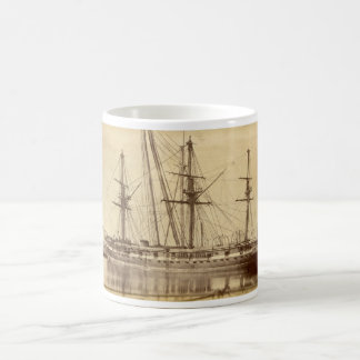 HMS Scylla - 19th Century Royal Navy Warship Coffee Mug