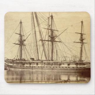 HMS Scylla - 19th Century Royal Navy Warship Mousemat