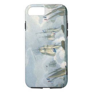 HMS Sirius, Captain Rowse engaging a French Squadr iPhone 7 Case