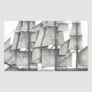 HMS Surprise 1796 Rectangular Sticker