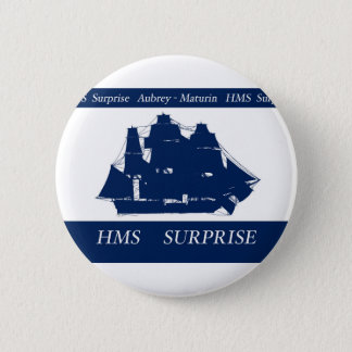 hms surprise, tony fernandes pinback button