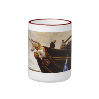 HMS Unicorn Ringer Mug