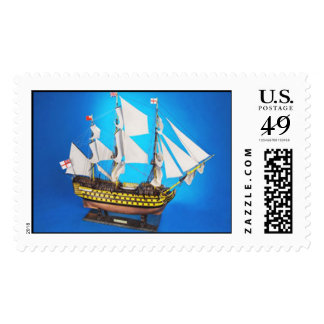 hms-victory18c postage stamp