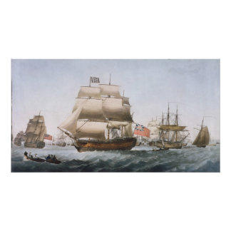 HMS Victory, 1806 Poster