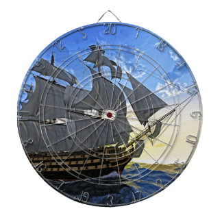 HMS Victory at Dawn Dartboards