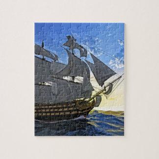HMS Victory at Dawn Jigsaw Puzzle