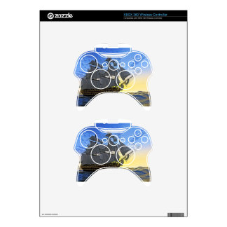 HMS Victory at Dawn Xbox 360 Controller Decal