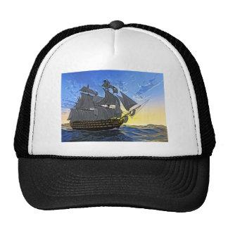 HMS Victory at Dawn Trucker Hat