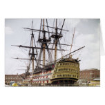 HMS Victory Card