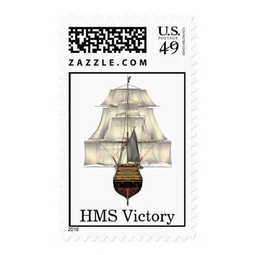 HMS Victory - nave alta - buque de guerra Franqueo