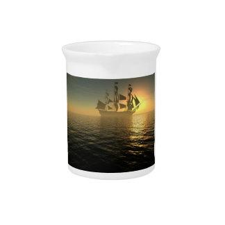 HMS Victory Beverage Pitcher