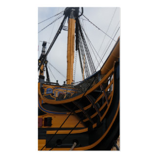 HMS VICTORY - PORTSMOUTH - UK - NELSON'S WARSHIP PACK OF STANDARD BUSINESS CARDS