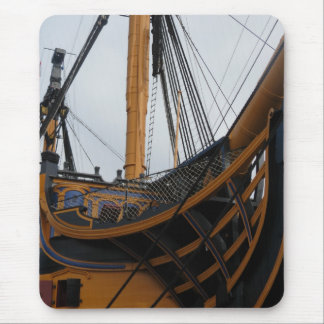 HMS VICTORY - PORTSMOUTH - UK - NELSON'S WARSHIP MOUSE PAD