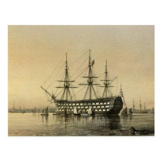 HMS Victory Post Card
