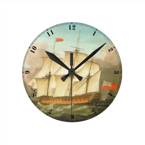 HMS Victory Reloj De Pared