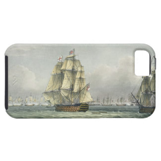 HMS Victory sailing for the French line flanked by iPhone 5 Case