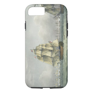 HMS Victory sailing for the French line flanked by iPhone 7 Case