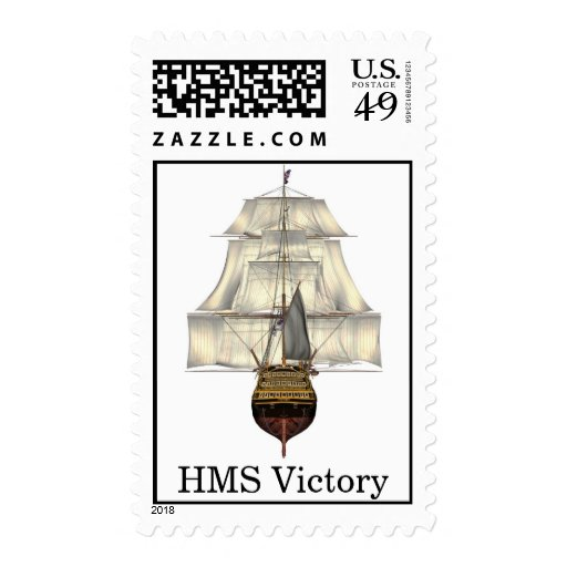 HMS Victory - Tall Ship - Warship Postage