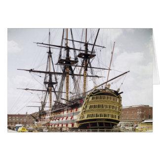 HMS Victory Tarjeta De Felicitación