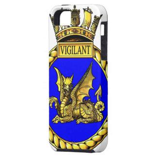 HMS Vigilant Crest iPhone 5 Cover