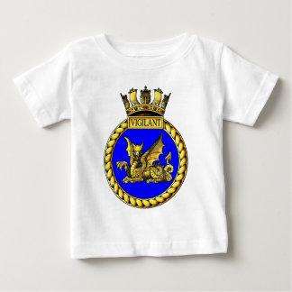 HMS Vigilant Crest T-shirts