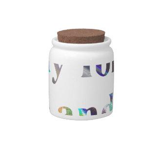 hmu candy jar