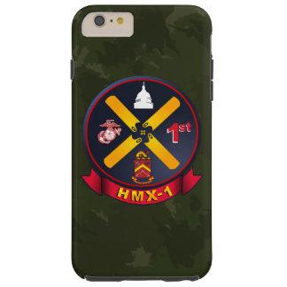 """HMX-1 """"infante de marina uno"""" Camo verde oscuro Funda Para iPhone 6 Plus Tough"""