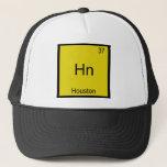 Hn - Houston City Element Chemistry Symbol T-Shirt Trucker Hat