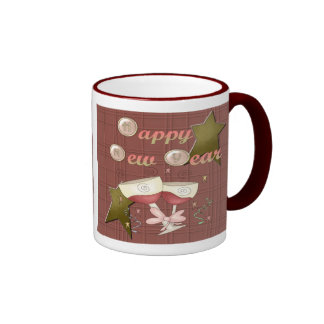 HNY Wine Glasses Coffee Mug