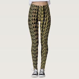 HNY-Yellow Gold Leggings