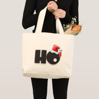 Ho3 Ho Cubed Ho Ho Ho Large Tote Bag