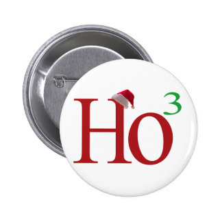 Ho3 (Ho Ho Ho) Pin Redondo 5 Cm
