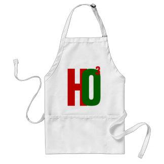 HO3 (Ho Ho Ho) Santa Christmas Adult Apron