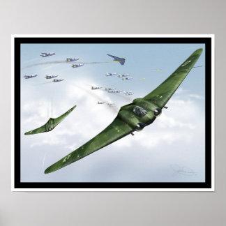 Ho 229 Attack! Poster