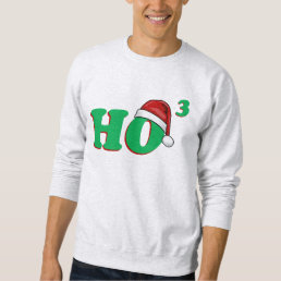 Ho 3 (Cubed) Funny Christmas Sweater
