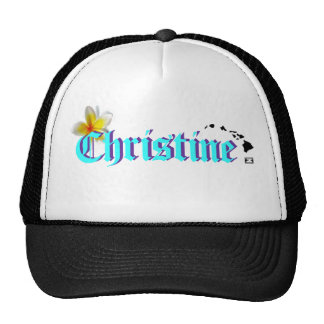 Ho Brah!...,Dis is Christine's Hat!!!