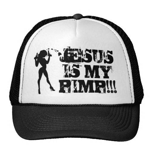 """Ho Brah!. ¡, """"JESÚS ES MI CHULO!! """" Sombrero del c Gorras De Camionero"""
