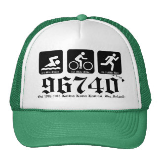 Ho Brah!..,Swim-Bike-Run 96740 Oct 10,2015 Trucker Hat