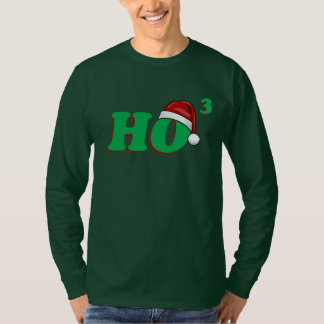 Ho camisa divertida de 3 navidad (cubicado)