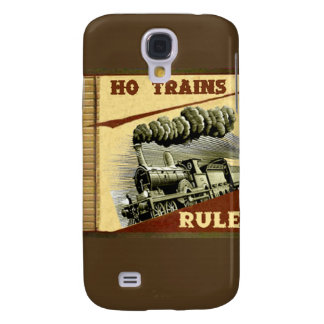 Ho caso de IPhone 3 de la regla de los trenes Funda Para Galaxy S4