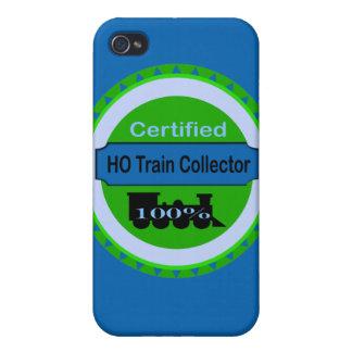 HO caso de IPhone 4 del colector del tren iPhone 4/4S Fundas