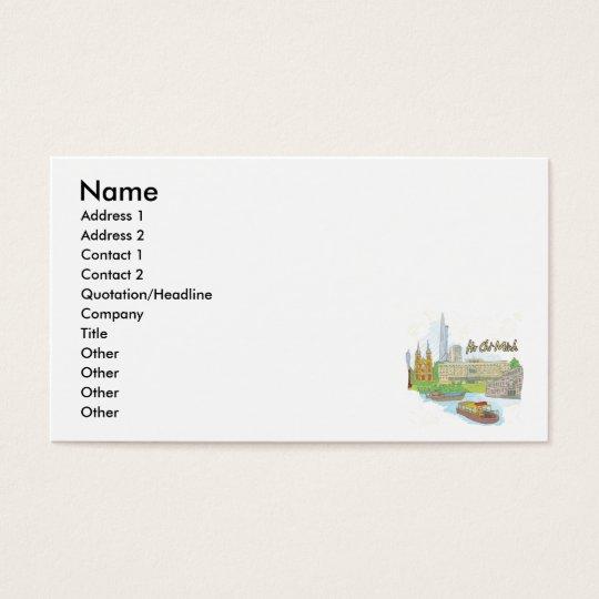 Ho Chi Minh Business Card