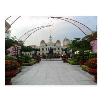 Ho Chi Minh City Pasillo, Vietnam Postales