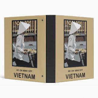 Ho Chi Minh City Vietnam 3 Ring Binder