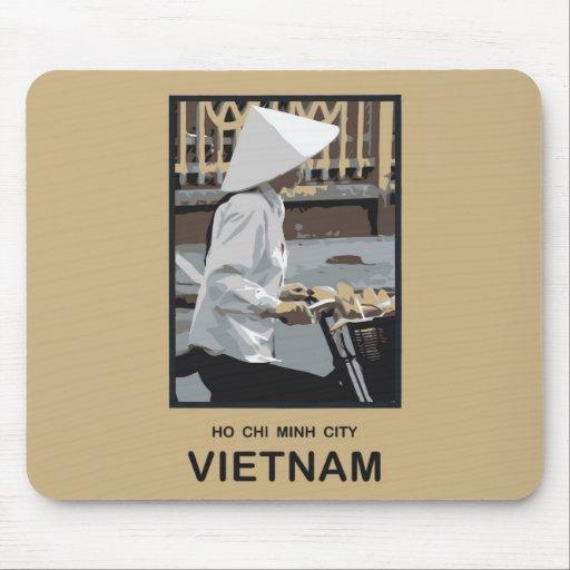 Ho Chi Minh City Vietnam Mouse Pad