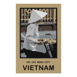 Ho Chi Minh City Vietnam Posters