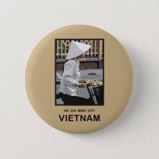 Ho Chi Minh City Vietnam Pinback Button