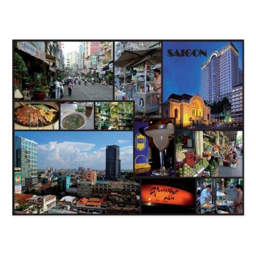 Ho Chi Minh city _ Vietnam Postcard