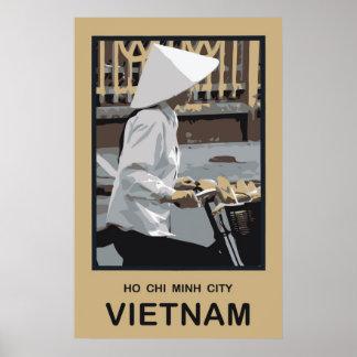 Ho Chi Minh City Vietnam Póster