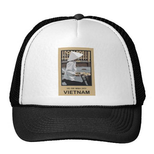 Ho Chi Minh City Vietnam Trucker Hat